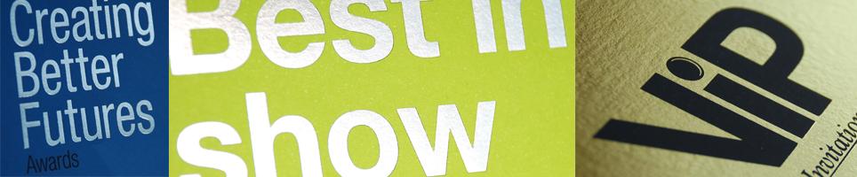 Gold Design Print Ltd foil blocking header